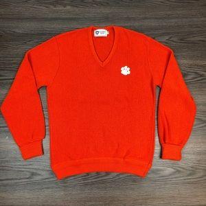 Collegiate South Orange Clemson Tigers Sweater M